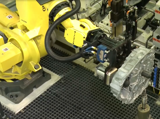 robotic deburring